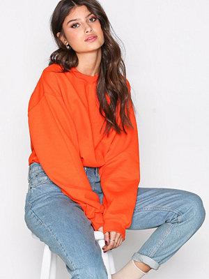 NLY Trend Base Sweat Orange