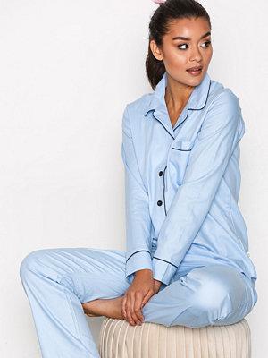 Pyjamas & myskläder - Rayville Debbie Pyjamas Solid Sky Blue