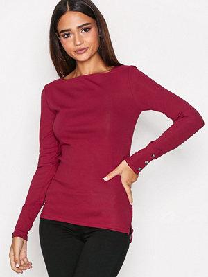 Lauren Ralph Lauren Shoreleen Long Sleeve Knit Red