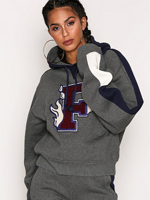Fenty PUMA by Rihanna Hooded Panel Sweatshirt Grå