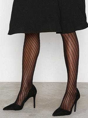 Strumpbyxor - Vogue Dot Lines 20 Den Svart