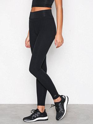 Fashionablefit Upper Mesh Tights Svart