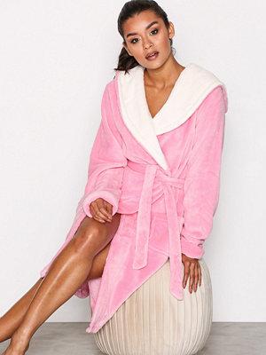 Morgonrockar - Chelsea Peers Dressing Gown Rosa