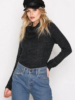 Only onlCARLA L/S Rollneck Pullover Knt Svart