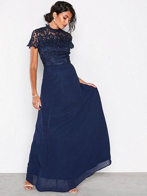 Chi Chi London Charissa Dress Navy