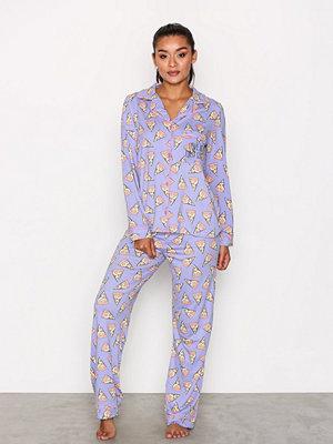 Pyjamas & myskläder - Chelsea Peers Pizza Slice PJ Set Lila