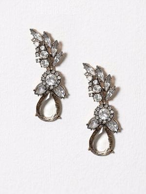 Only örhängen onlALLI Stone Party Earring Acc Guld