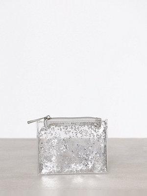 Plånböcker - New Look Glitter Zip Top Silver