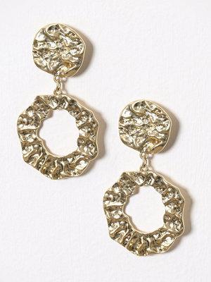 Pieces örhängen Pcshubi Earrings Ff Pb Guld