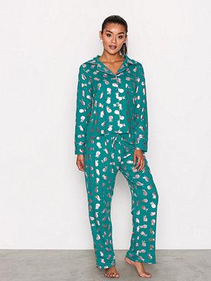 Pyjamas & myskläder - Chelsea Peers Pineapple Set Grön