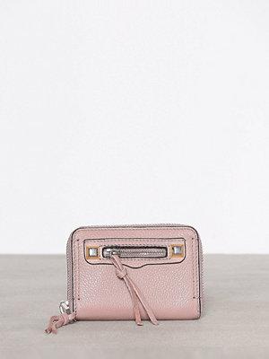 Plånböcker - Rebecca Minkoff Mini Regan Zip Wallet Rosa