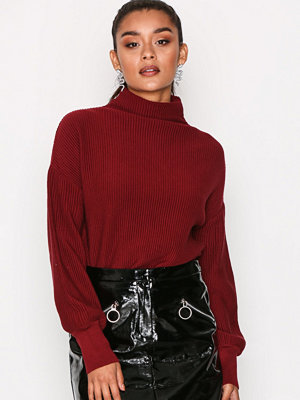 Object Collectors Item Objballoon L/S Knit Pullover 93 Pomegranate