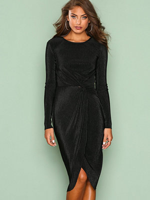 NLY Eve Padded Pleated Dress