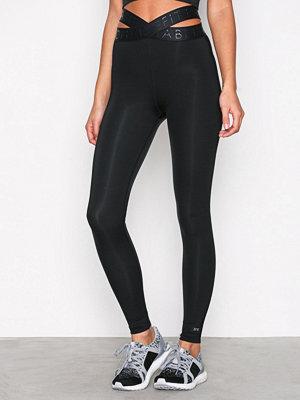 Sportkläder - Fashionablefit Banded Sports Tights Svart