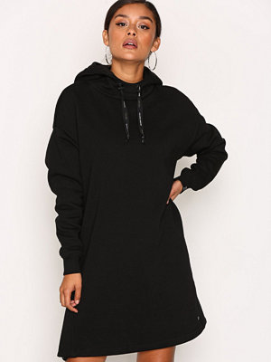 Scotch & Soda Hooded Oversized Sweat Dress Black