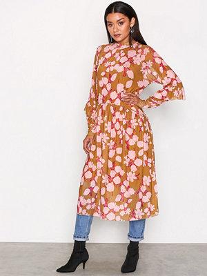 Y.a.s Yashazel L/S Size Dress Mörkorange