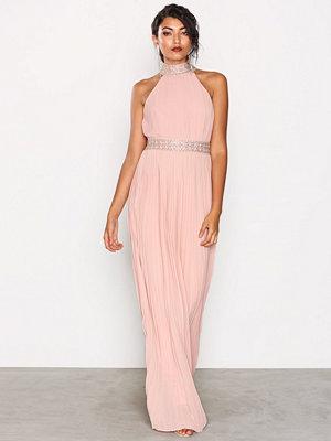 TFNC Kenzie Maxi Dress Pearl Pink