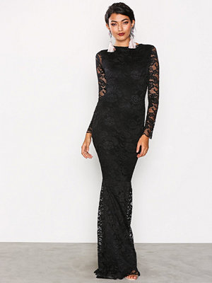 Honor Gold Faye Maxi Dress Black