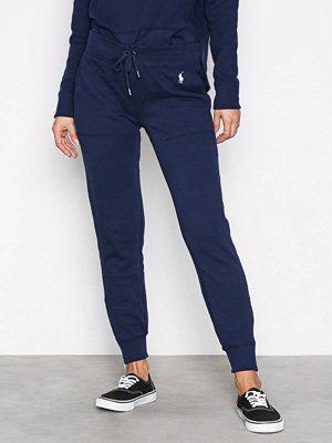 Polo Ralph Lauren marinblå byxor Zip Straight Pant Navy