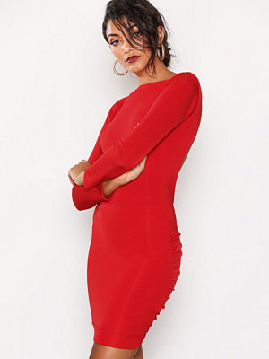 Honor Gold Bella Midi Dress Red