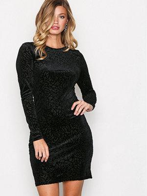 Selected Femme Sfmila Ls Dress Svart