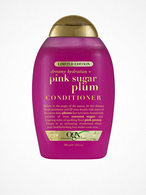 Hårprodukter - OGX Pink Sugar Plum Conditioner 385 ml Transparent