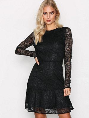 MICHAEL Michael Kors Arabesque Floral Dress Black