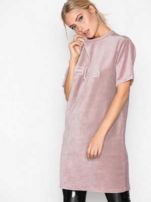 Fila Luna Long Tee Dress Woodrose