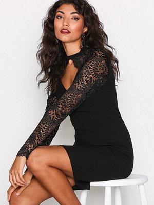 Vero Moda Vmmissy Lace L/S Abk Dress SB1 Svart