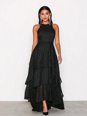 Y.a.s Yasthrone Maxi Dress Svart