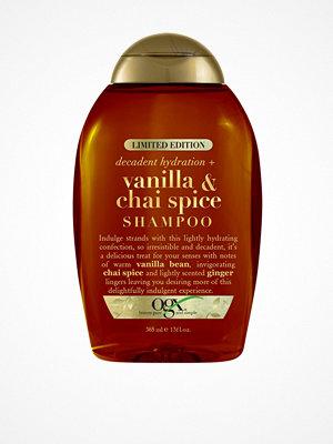 Hårprodukter - OGX Vanilla & Chai Spice Shampoo 385 ml Transparent