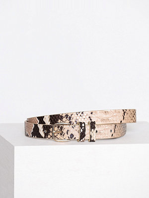 Bälten & skärp - Pieces Pcjulie Jeans Belt Brun