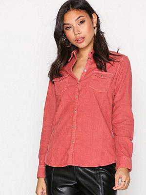 Wrangler L/S Corduroy Shirt Rose