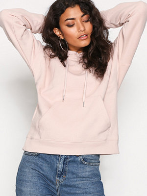 Street & luvtröjor - New Look Basic Oversized Hoody Beige