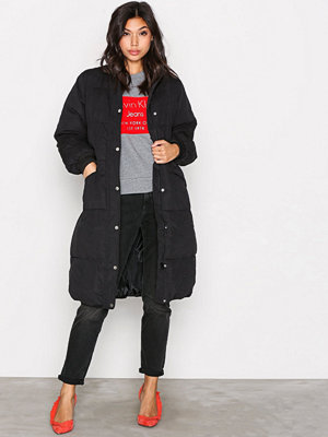Vila Vianabella Long Jacket Svart