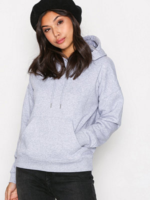 Street & luvtröjor - New Look Basic Oversized Hoody Grey