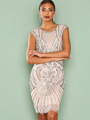NLY Eve Cocktail Party Dress Champagne