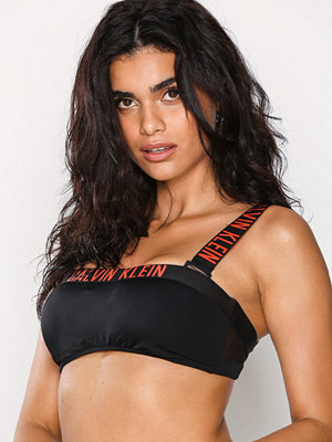 Calvin Klein Underwear Bandeau Mesh Bikini Top Svart