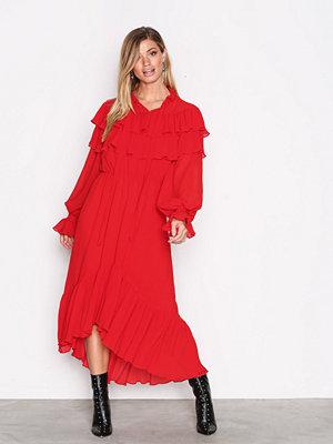 Y.a.s Yasgaho L/S Dress Mörk Röd
