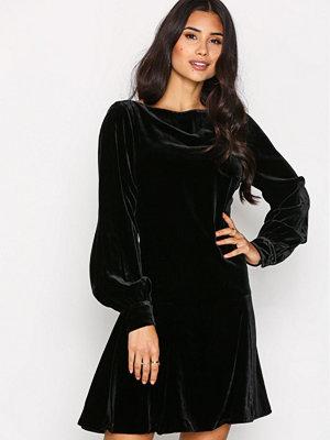 Polo Ralph Lauren Long Sleeve Regna Dress Black