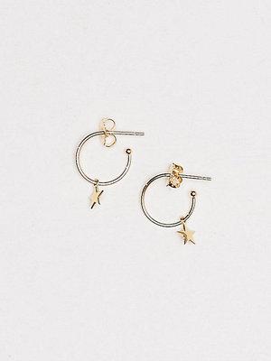 SOPHIE By SOPHIE örhängen Mini Hoops Star Guld