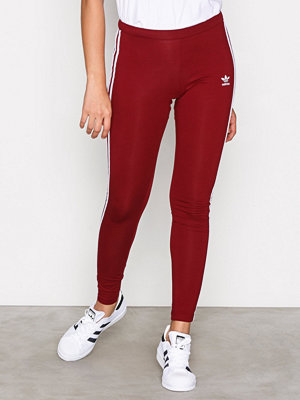 Leggings & tights - Adidas Originals 3STR Leggings Burgundy