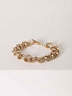 NLY Accessories armband Bar Chain Bracelet Guld