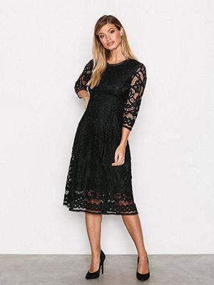 Dry Lake Kitty Dress Black