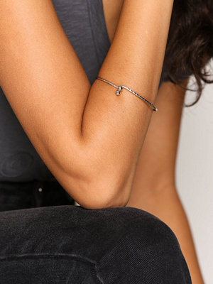 NLY Accessories armband Double Ball End Bangle Silver