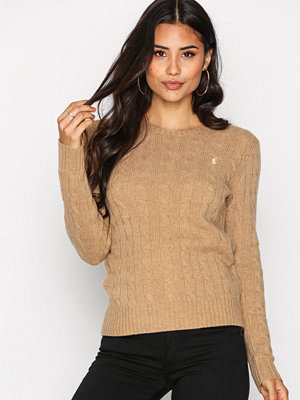 Polo Ralph Lauren Julianna Wool Sweater Camel