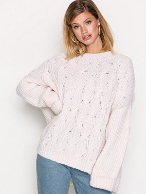 American Vintage Pullover Ml Col Rond Nacre