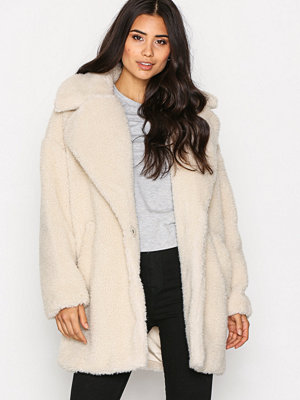 Topshop CCN Coat Cream