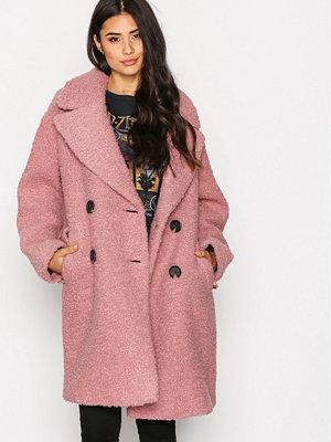 Topshop Embellished Jacket Pink