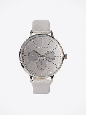 Klockor - River Island Circle Dial Watch Silver
